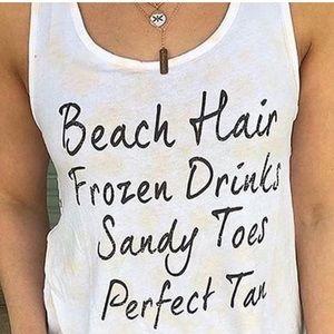Buckle Twine and Stark Beach Hair Sandy Toes Tank